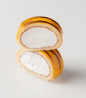 Gâteau roulé à la crème chantilly