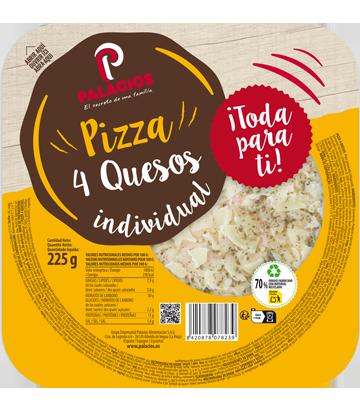 Pizza Mini Micro quatre fromages
