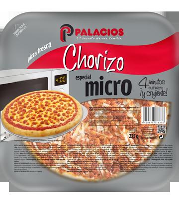 pizza mini micro chorizo palacios. Black Bedroom Furniture Sets. Home Design Ideas