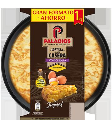 Tortilla Maison Palacios À L'oignon 1 Kilo