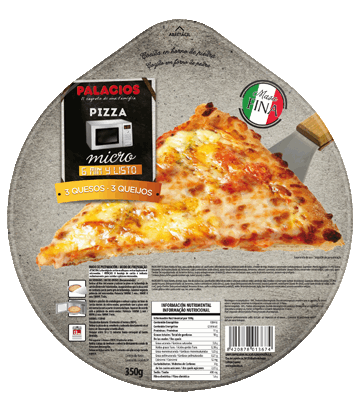 Pizza Micro 3 fromages