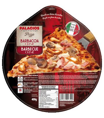 Pizza Originale BBQ crème poulet