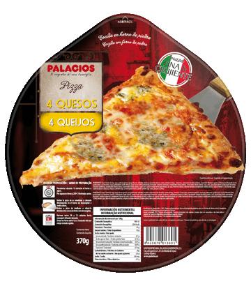 Pizza Originale Quatre fromages