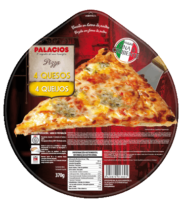 Pizza Originale Quatre fromages 370g