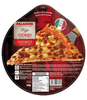 Pizza Originale Chorizo et fromage de chèvre