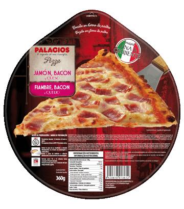 Pizza Originale Jambon, bacon et fromage