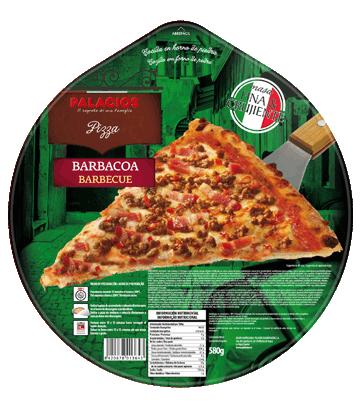 Pizza Familiar barbecue 580g